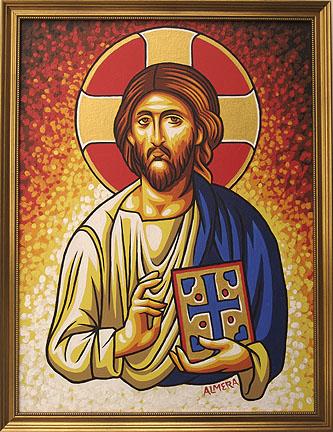 MA Byzantine Jesus