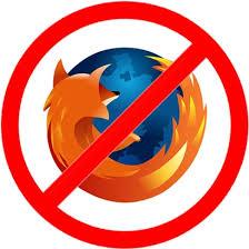 No Firefox