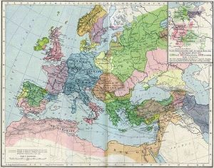 Europe in 1190