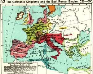 "Europe, after the ""fall"" of the Roman Empire"