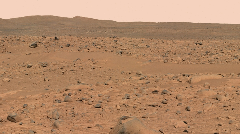 The red hills of Mars