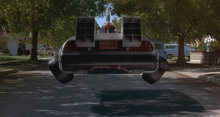I want my flying car