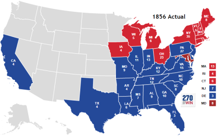The Election of 1856